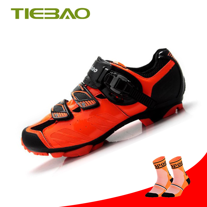Tiebao sapato ciclismo Mountain Bike Shoes For Men Self-locking MTB Bicycle Cycling Shoes Breathable Anti-slip Sports SneakersTiebao sapato ciclismo Mountain Bike Shoes For Men Self-locking MTB Bicycle Cycling Shoes Breathable Anti-slip Sports Sneakers