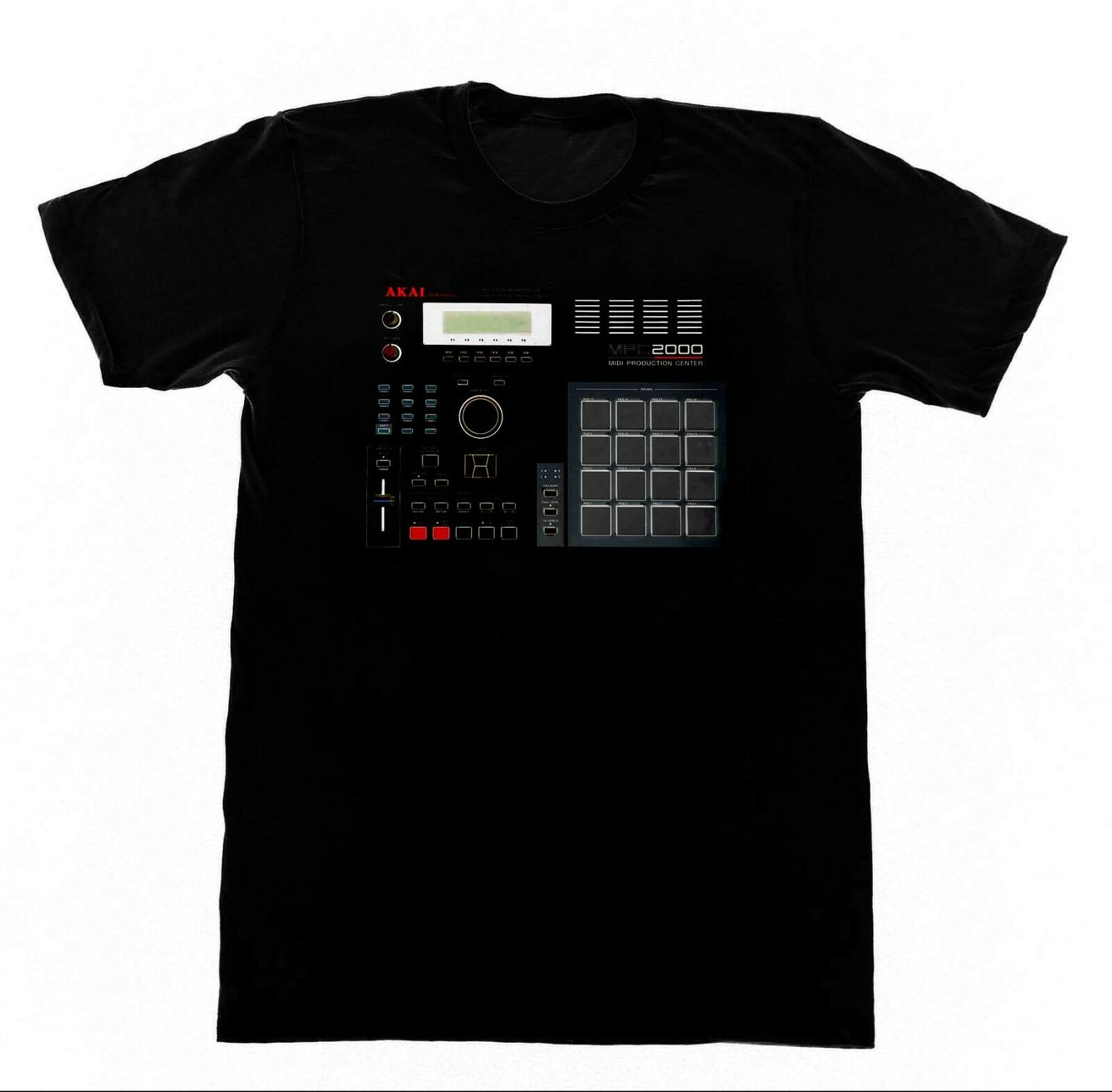 2019 Cool MPC 2000 Shirt Acid EDM Skool Rave House Music Vintage Synthesizer Moog Tee image