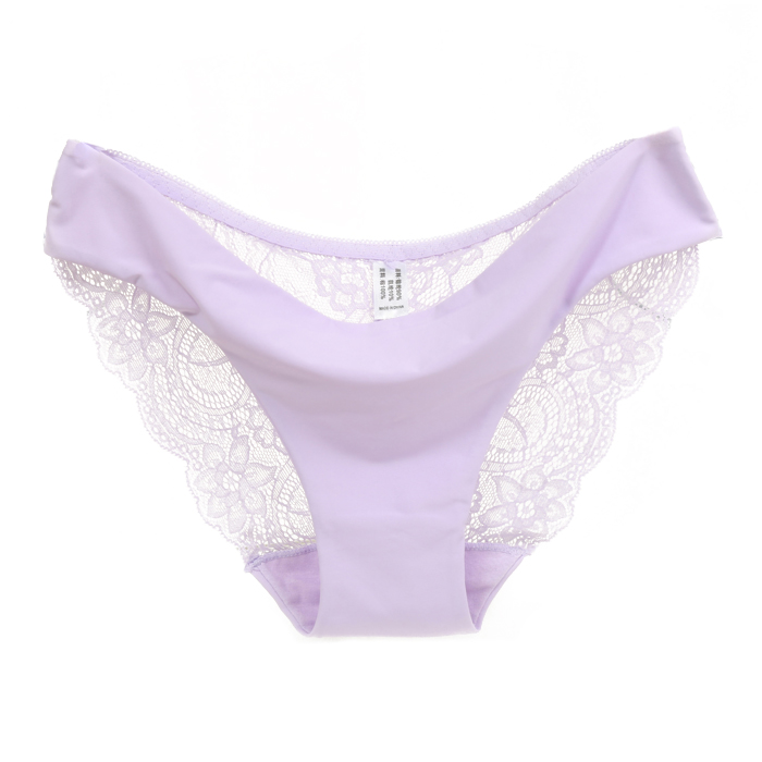 b23bb09841 Women Fashion nylon Lace Silk Seamless Underwear Female Breathable ...