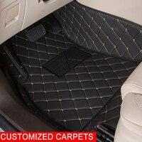 Custom Car Floor Mats For Honda CRV Accord 7 8 9 Odyssey Elysion Fit City Civic