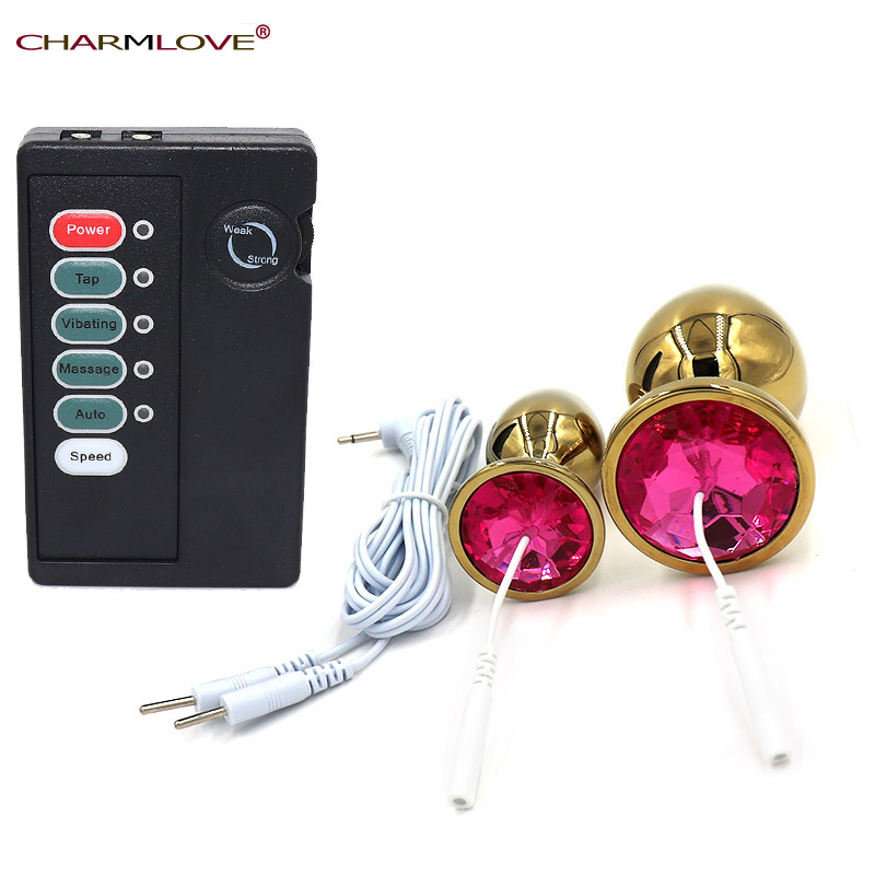 Charmlove Gold Anal Medical Themed Electric Shock Grow -9063