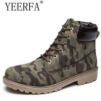 YEERFA 2017 Hot Sales Fashion Casual Women Martin Boot Shoes Ladies Round Toe Lace Up Winter
