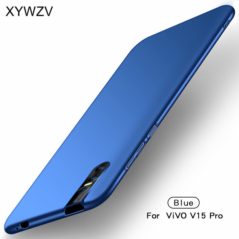 Image 2 - ViVO V15 Pro Case Silm Shockproof Luxury Ultra Thin Smooth Hard PC Phone Case For ViVO V15 Pro Cover For Vivo V15 Pro Fundas-in Fitted Cases from Cellphones & Telecommunications