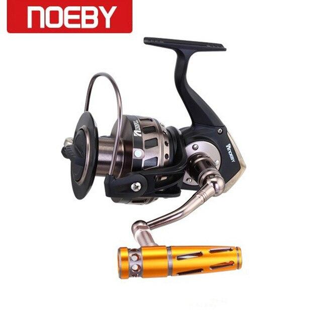 5ca49bdfb0a Noeby Molinete De Pesca Max Drag30kg/4.1: 1 Full Metal Jig Oceano Barco  Carretes