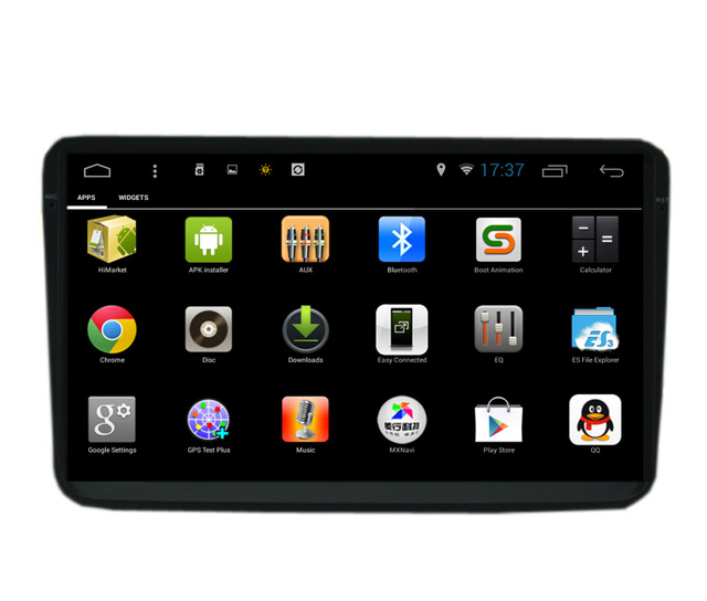 "9 ""Quad Core Android Odbiornik Dla Skoda Auto Radio GPS Navi Superb Yeti Fabia Octavia Altea Seat Leon Teldo Volkswagen Golf Polo"