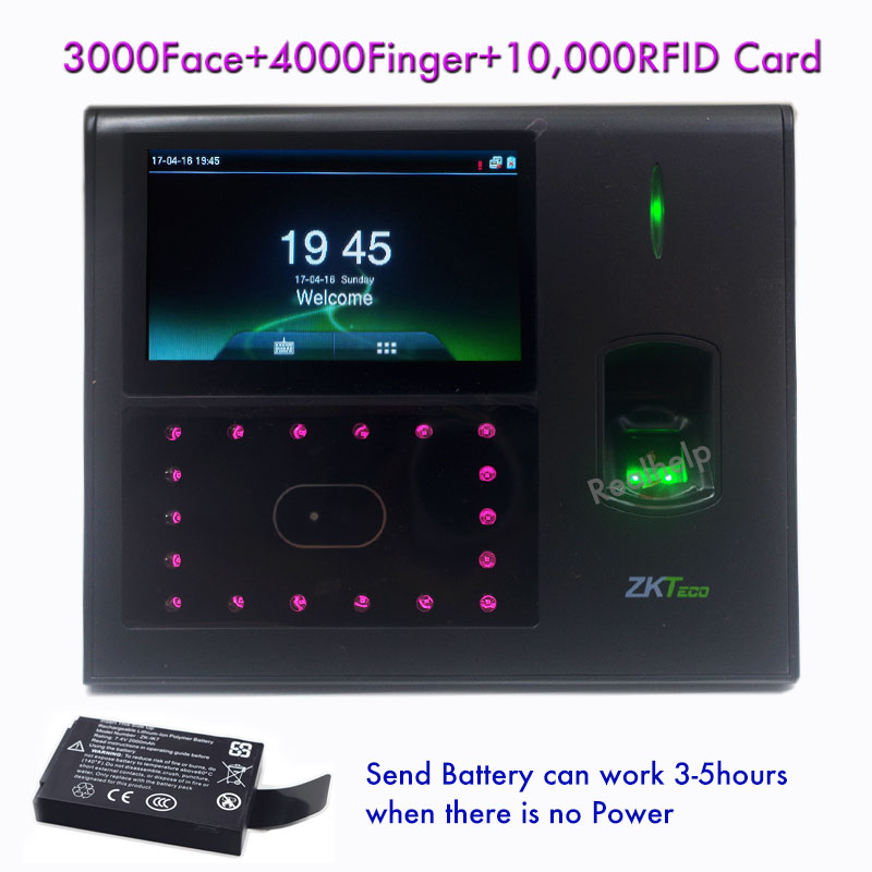 3000 Face Capacity Open Door Access Controller Biometric Technology Facial IDcard Fingerprint To Do Attendance Iface660