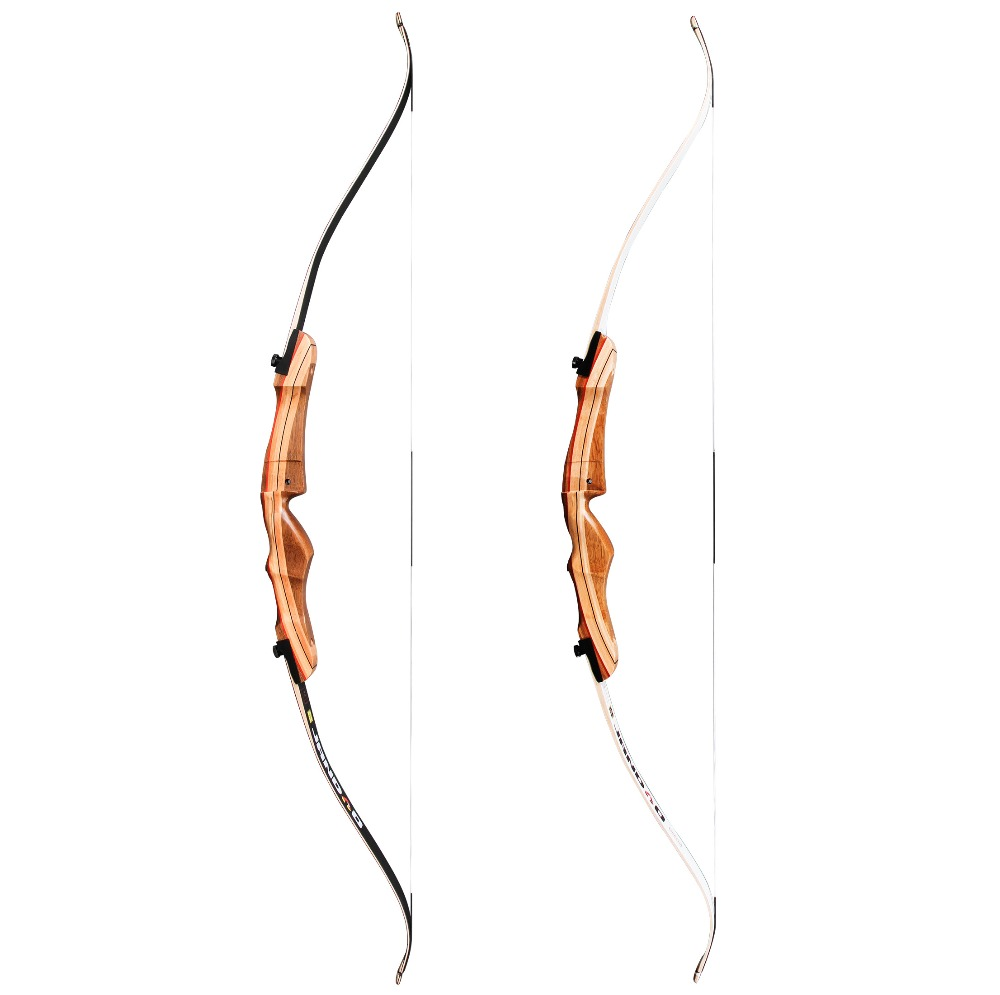 Sanlida Archery Jandao Beginner Recurve Bow Wood Riser Traditional Style 62 70 16 38lbs Left hand