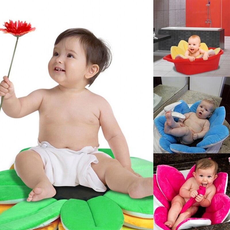 Foldable Flower Baby Bath Mat