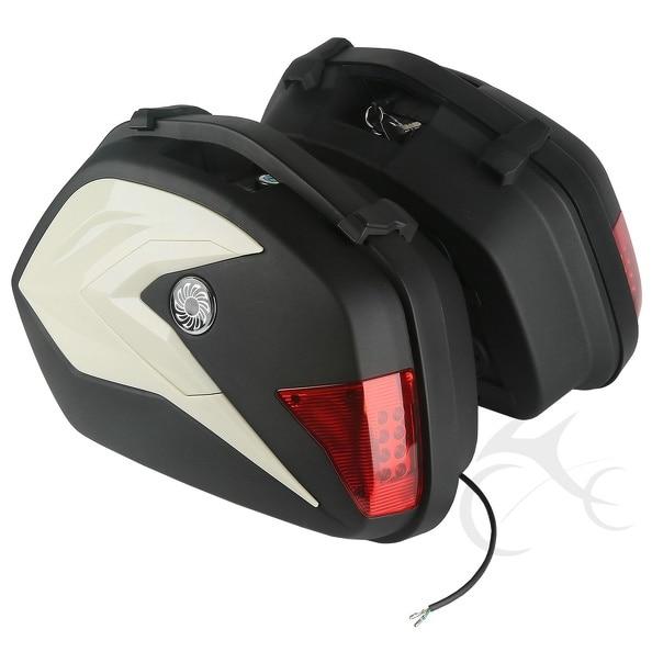 כבד אוכף ABS אוכף שקיות עם אור עבור KTM 125 - אופנוע אביזרים וחלקים