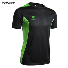 2018 New Men running shirt sport fitness bodybuilding gym mens t quick gry under tops basketball