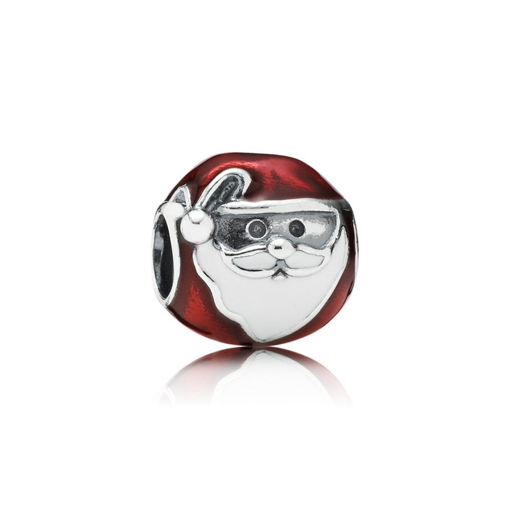 Home & Garden Tireless Santas Grotto Christmas Puppy Christmas Train Bear Sleighing Santa Charm Fit Pandora Bracelet 925 Sterling Silver Bead Jewelry Less Expensive