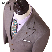 LA Maxpa (jacket+pants+vest) Top model males go well with male go well with for marriage ceremony spring autumn informal slim match promenade groom occasion costume go well with
