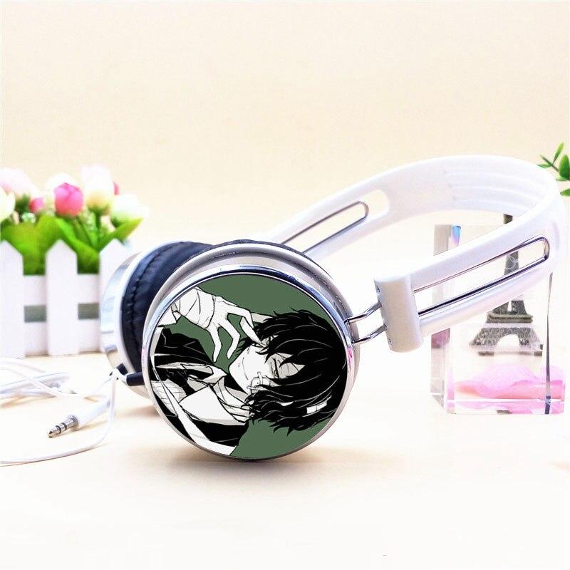 Anime Hatsune Miku Earphone Stereo Deep Bass Headband Headphone For PC MP3 Phone