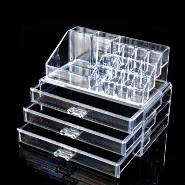 Multi style Drawers jewelry Box Organizer Holder Case Makeup Holder