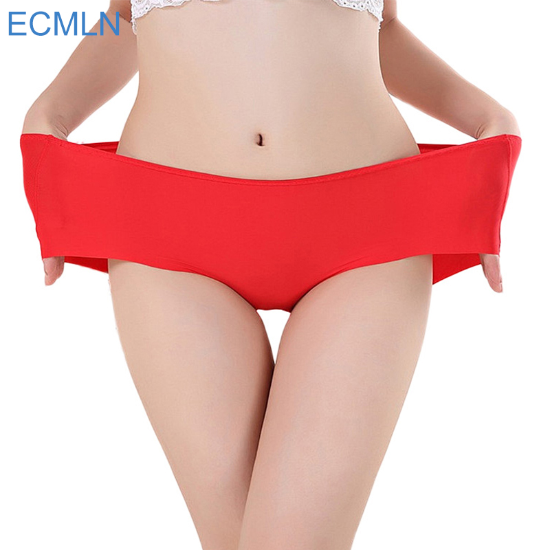 fb510cec0e56 Delicate Hot! 2016 Women's Fashion Invisible Underwear Spandex Seamless  High Quality Briefs Panty Bikini Newest big size pantie