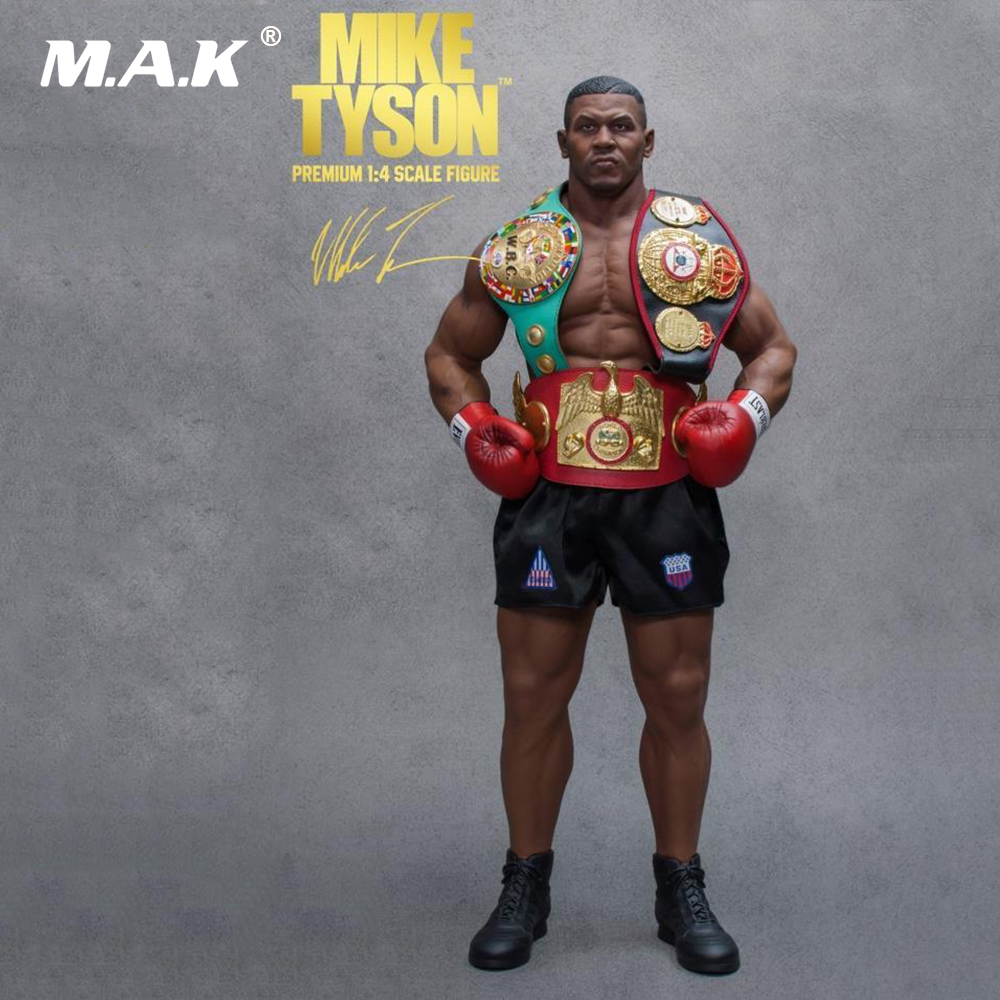 Collectible 1/4 Limited Statue King of Fighters Mike Tyson Full Set Action Figure Model Toys for Fans Birthday Gift
