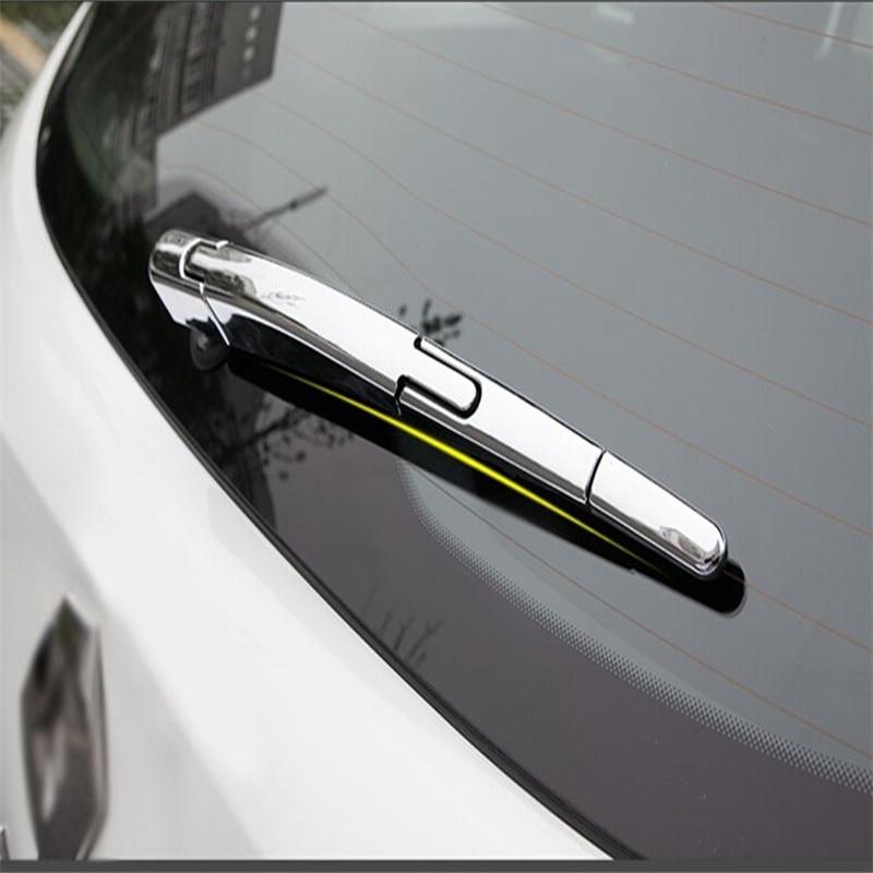 Alkalmas a Renault Kadjar 2016 ABS króm hátsó ablakemelő - Külső autó kiegészítők
