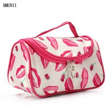 Fashion Women's Necessities Travel Cosmetics Storage Box Cosmetic Bag Professional Multifunctional Makeup Set Bag Organizer