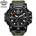 SMAEL Brand Sport Watch Men's Fashion Analog Quartz LED Digital Electronic Watch Waterproof Military Watches Relogio Masculino