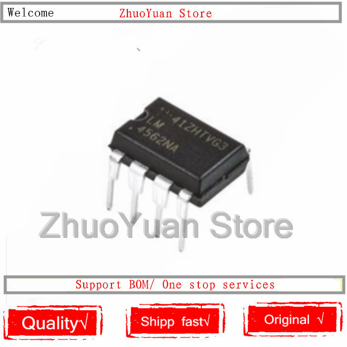 1PCS/lot New Original LM4562NA LM4562 DIP8 LM4562NA/NOPB DIP-8 IC Chip