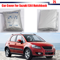 Car Cover Anti-UV Outdoor Rain Snow Sun Resistant Protection Cover For Suzuki SX4 Hatchback High Quality !
