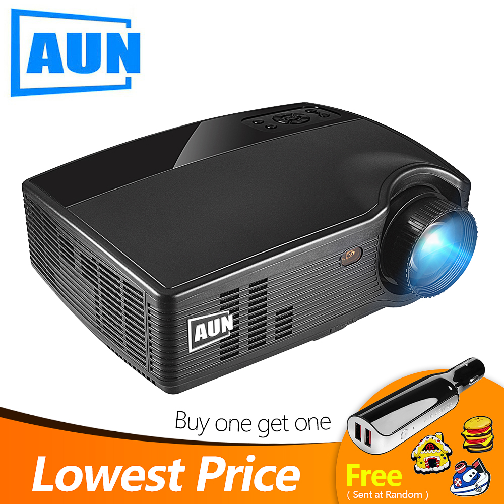 AUN HD Projector PH10 3500 Lumen LED Beamer Optional Android 6 0 Projector Bluetooth WIFI Full
