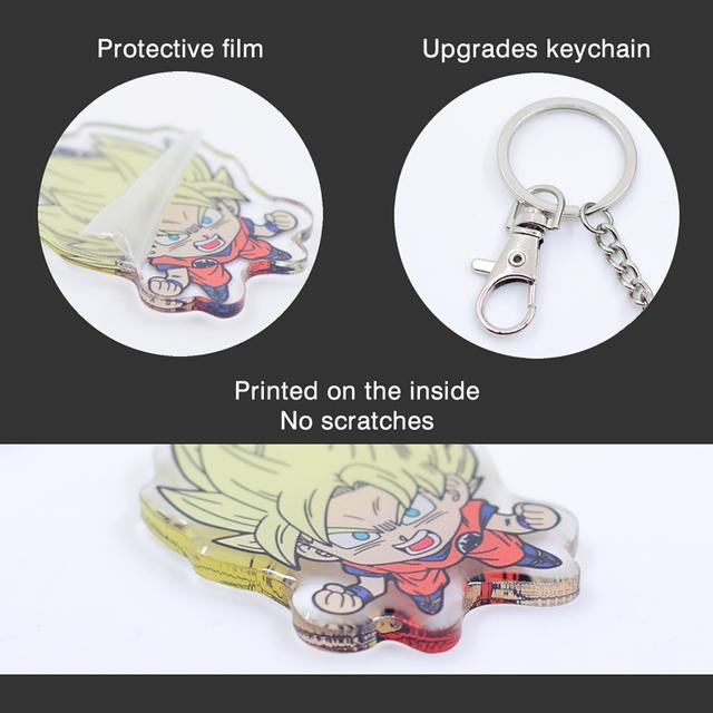 Tokyo ghoul Kaneki Ken Double Sided Acrylic Key Chain