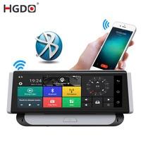 HGDO Car DVR 2 in 1 Mirror Dash cam 8 4G 3G Car GPS dvr Camera ROM 16GB RAM1GB Video Recorder Android car navigation radio