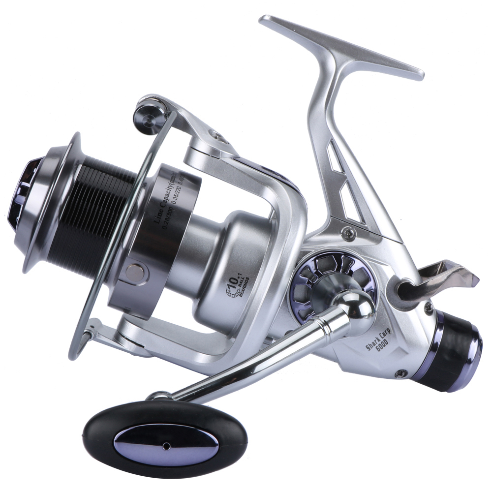 Goture Metal Spool Fishing Reel Spinning Reel Coils 11BB Double Drag - Visvangst - Foto 6