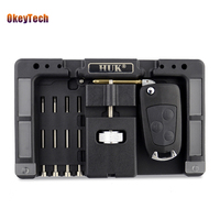 Okeytech Original HUK Car Remote Control Flip Key Fixing Tool Vice Flip Key 4pcs Pin Set