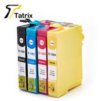Tatrix For Epson T1261 T1262 T1263 T1264 Ink Cartridge For Epson Stylus NX330 430 Workforce 520 60 435 545 630