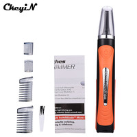 Micro Personal Men S Nose Ear Neck Mustache Beard Hair Touch Trimmer Shaver Clipper Grooming Remover