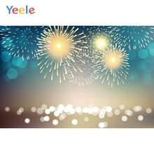 Yeele Christmas Family Party Fireworks Bokeh Lights Photography Backdrops Personalized Photographic Backgrounds For Photo Studio колентьев алексей сергеевич партизаны третьей мировой