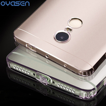 Silicone Phone Cases For Xiaomi Redmi 4 4A 4X Pro Note 4 4X Clear Soft Full Protector Dustproof Back Cover Shell Coque Fundas