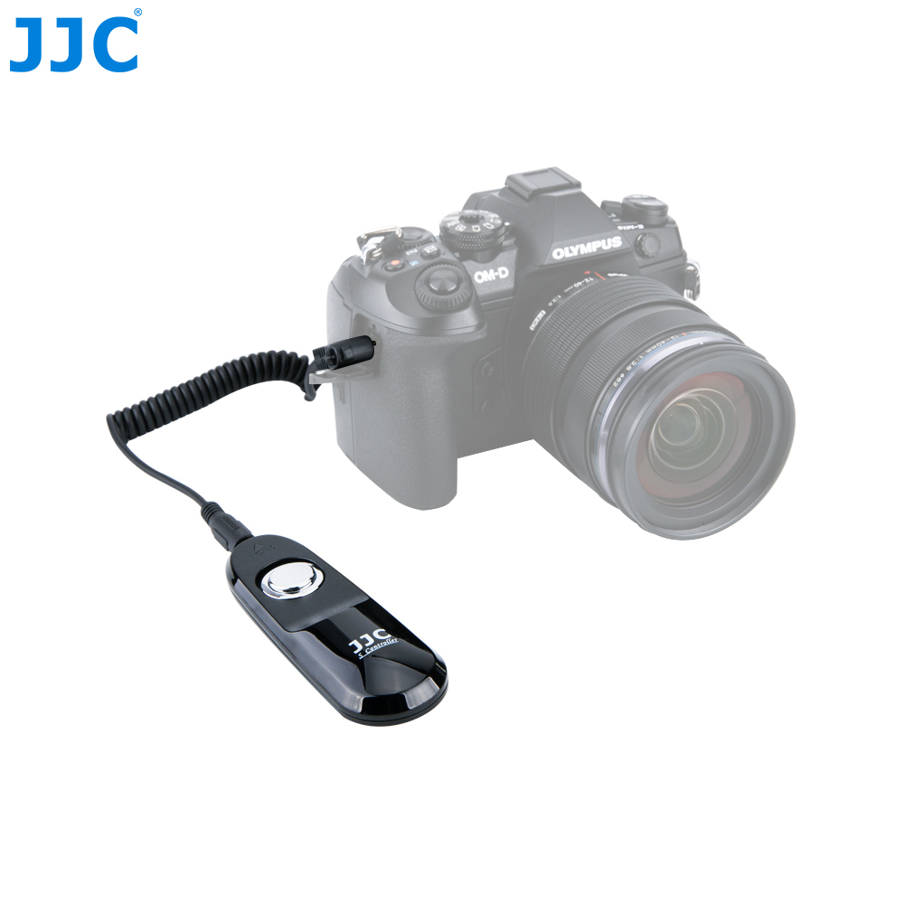 JJC Wired Camera Remote Switch Shutter Release Controller for Olympus OM-D E-M1 Mark II Replacing RM-CB2