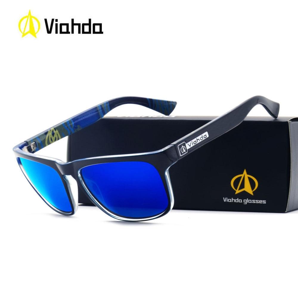 Viahda Brand 2018 New Sunglasses Men Black Cool Travel Sun ...
