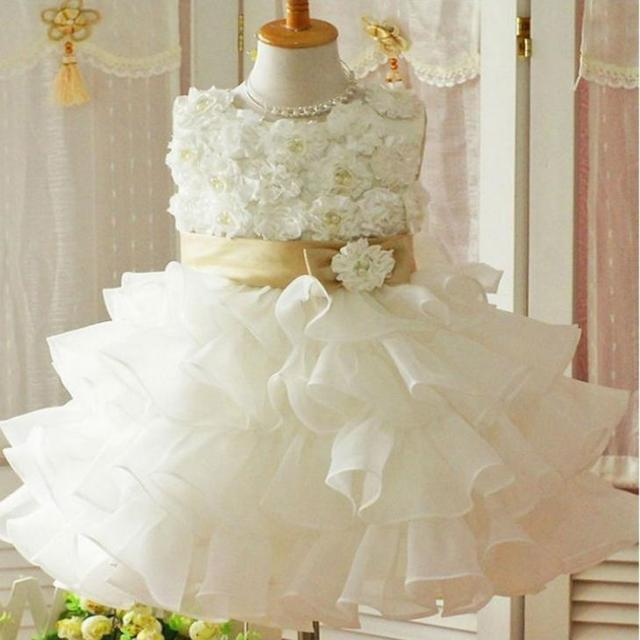 flower girl christening wedding party dress baby girl clothes toddler gowns child bridesmaid clothing children kids