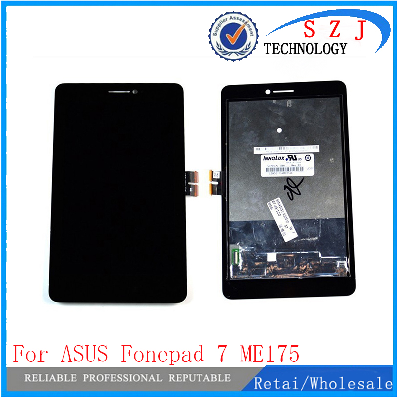 New 7'' inch LCD Screen Display + Digitizer Touch Assembly For ASUS Fonepad 7 ME175 ME175CG Free shipping new 5 5 inch full lcd display touch screen digitizer assembly replacement for asus zenfone 3 zoom ze553kl free shipping