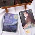 Kawaii карманный ноутбук с точечной сеткой  ежемесячный планер Ван Гога  органайзер  милый дорожный журнал  канцелярские принадлежности  подар...