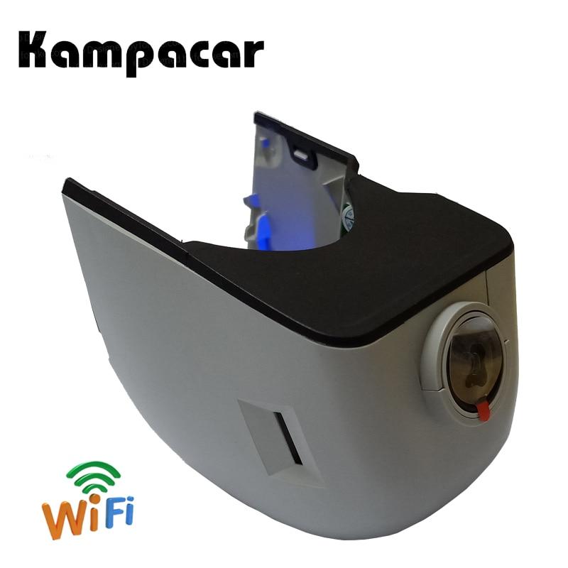 Kampacar Dash Caméra Wifi Rétroviseur Voiture Dvr Enregistreur Pour Audi A6 4f c6 A4 B7 B8 2006 2007 Q7 A6 C6 Allroad 2008 A5 2009 2010 Dvr
