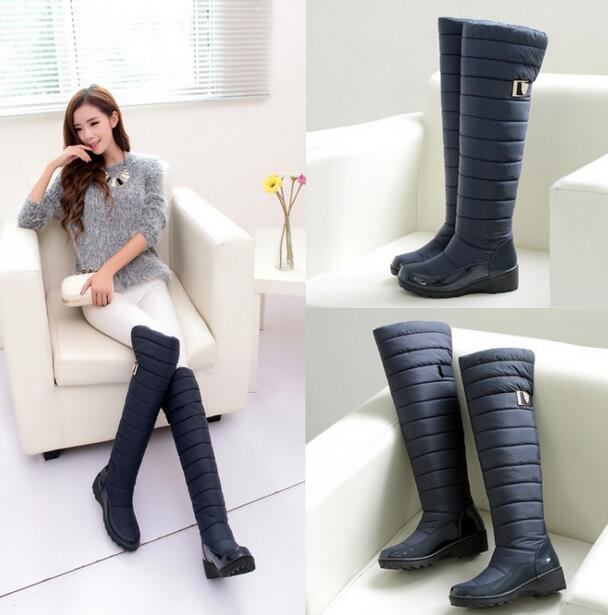 Aliexpress.com : Buy 2017 new arrival keep warm snow boots fashion ...