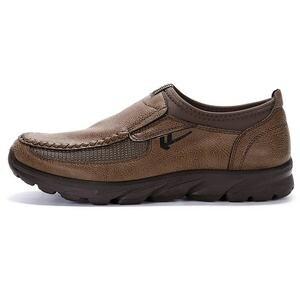 Image 2 - 高級カジュアルシューズ男性ローファー通気性の靴男性大人 sapato masculino プラスサイズ 38 47 chaussure オム