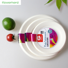 10pcs/lot High Quality Disposable Plate Birthday Party Paper Plate Barbecue Party Supply Round Plates & Buy quality disposable plates and get free shipping on AliExpress.com