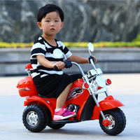 Children's Electric Motorcycle Ride on Toy Vehical Kids Three Wheels Electric Cars Tricycle Car Bicycle Motorcycle for Children