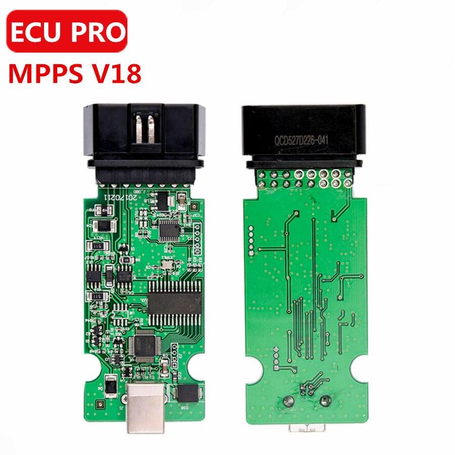 Prix pour Professionnel ECU Remap Chip Tuning SIPM V18 PEUT Flasher MPPS PRINCIPAL + TRICORE + MULTIBOOT avec Breakout Tricore Câble
