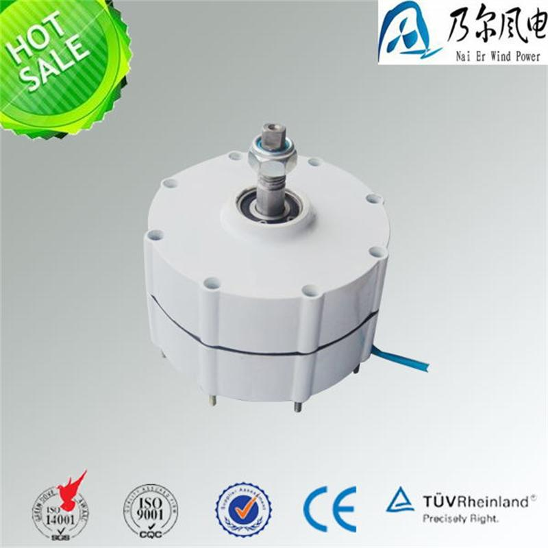 500w 12v 24v 48v AC low rpm permanent magnet generator for wind turbine use 500w ac 12v 24v 48v brushless rare earth permanent energy generator