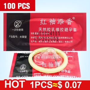 wholesale 100 PCS Condoms Ultra Thin Large Oil Quantity Sex tool products for Men package condom Adult free shipping(China)