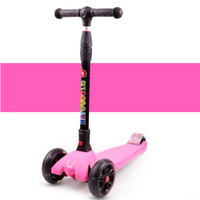 Children's foot scooter one button fast folding kick scooter adjustable height aluminum kid's skateboard boy girl scooter