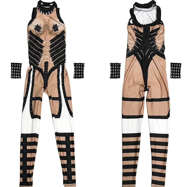 Jazz Barboteuses Justaucorps Sexy Stretch Haute Discothèque De Salopette Femme Cristaux Dj Mince Pôle Costumes Danse Homme Équipes RznPqxOE