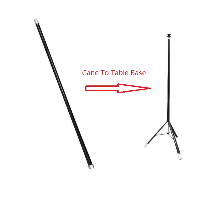 Cane to Table Base Magic Tricks Stage Close Up Illusions Accessories Gimmick Prop Magicians Can Used with Hat Table Magie Comedy marumi mc close up 1 55mm